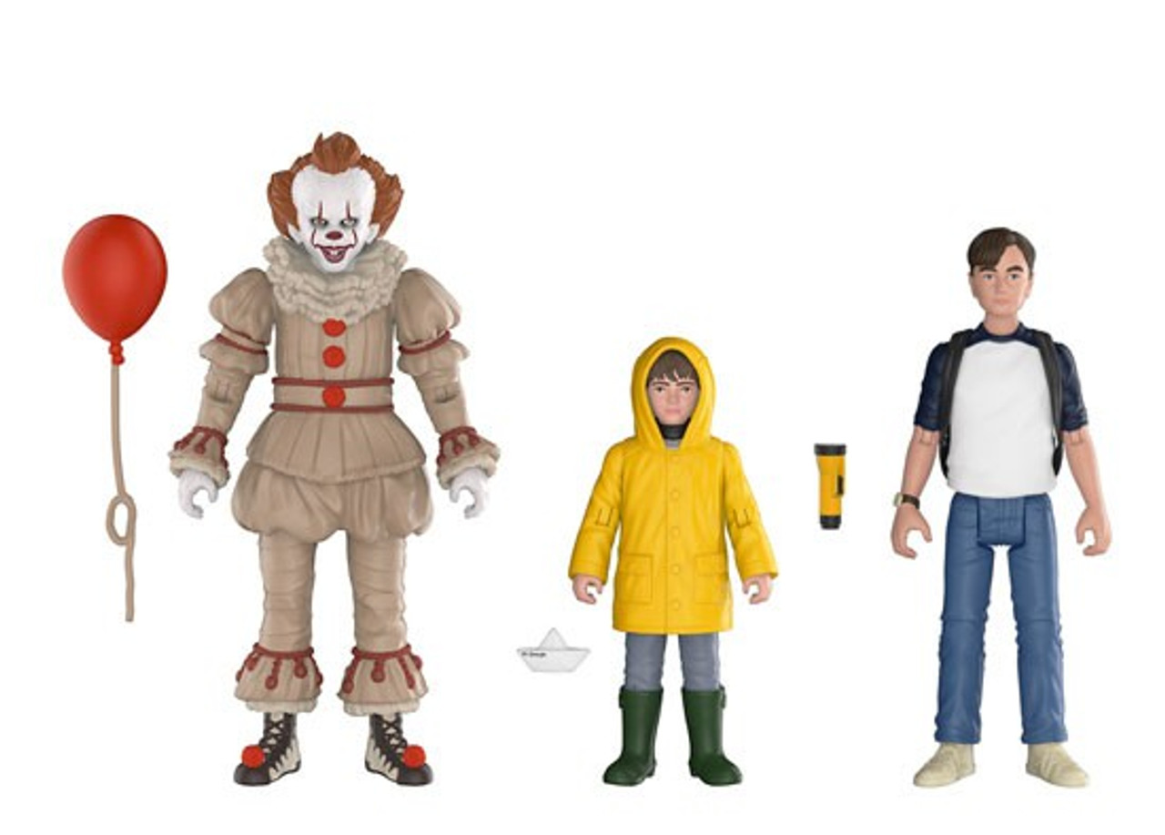 Funko It Pennywise Georgie Bill 3 75 Action Figure 3 Pack