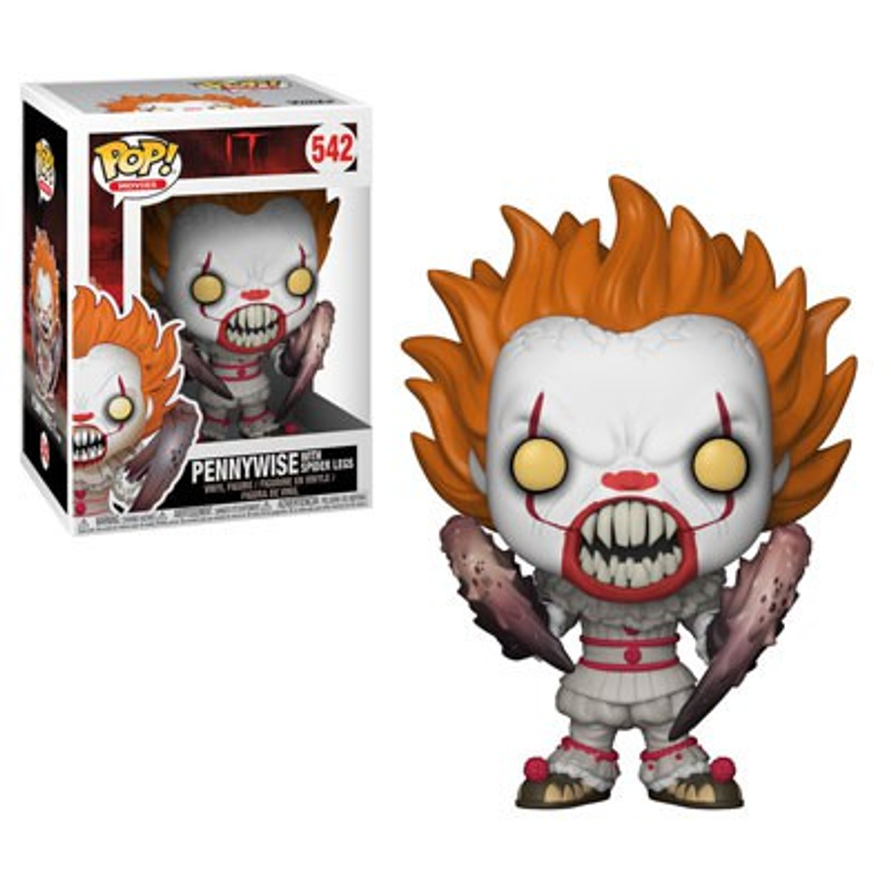 Funko It Funko Pop Movies Pennywise With Spider Legs Vinyl