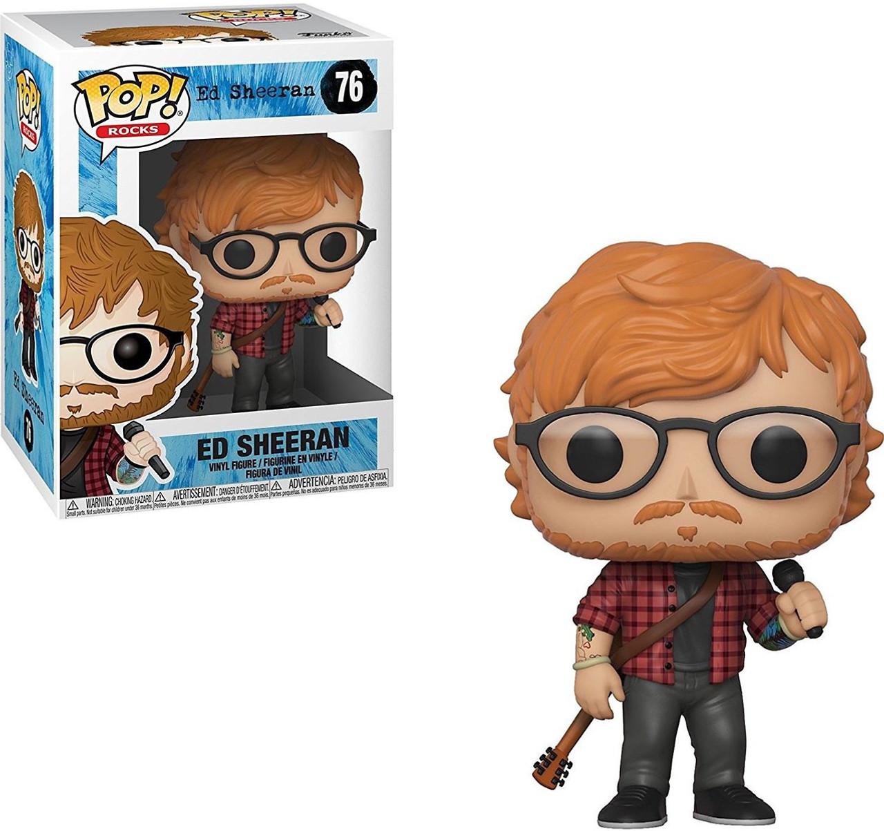 Funko POP! Rocks Ed Sheeran Vinyl Figure #76