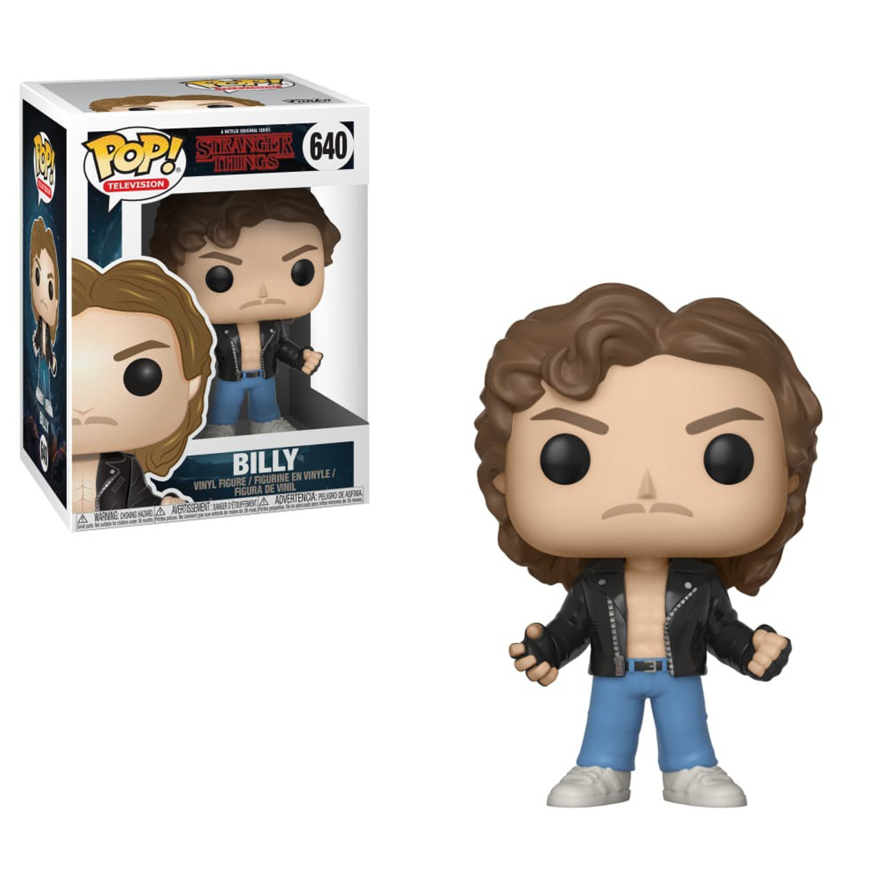 funko stranger things funko pop tv billy at halloween. Black Bedroom Furniture Sets. Home Design Ideas