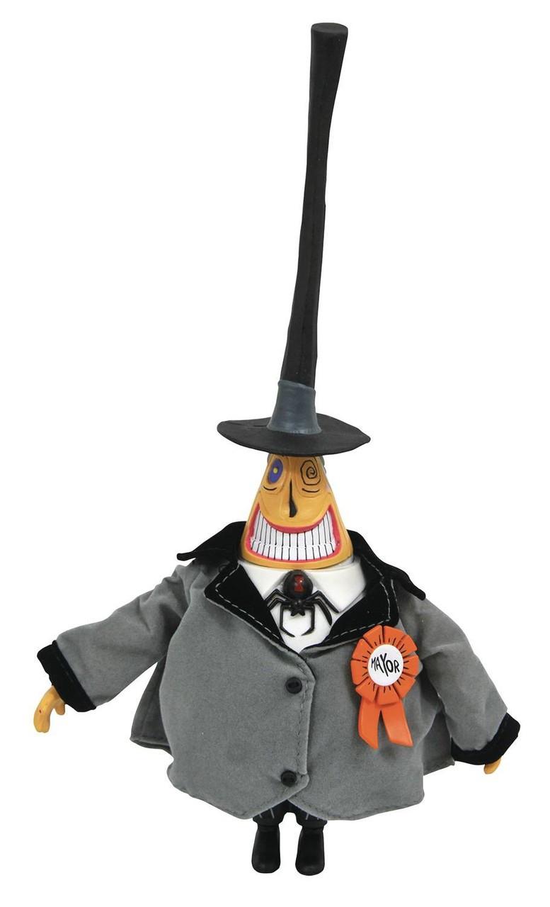 Nightmare Before Christmas Silver Anniversary Mayor 10 Action Figure ...