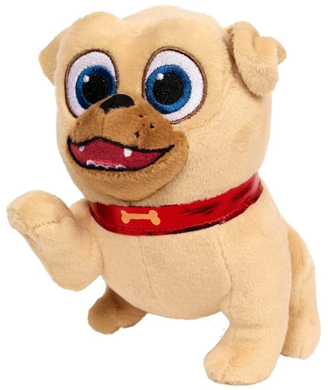 Disney Junior Puppy Dog Pals Rolly 6 Plush 6 Just Play Toywiz