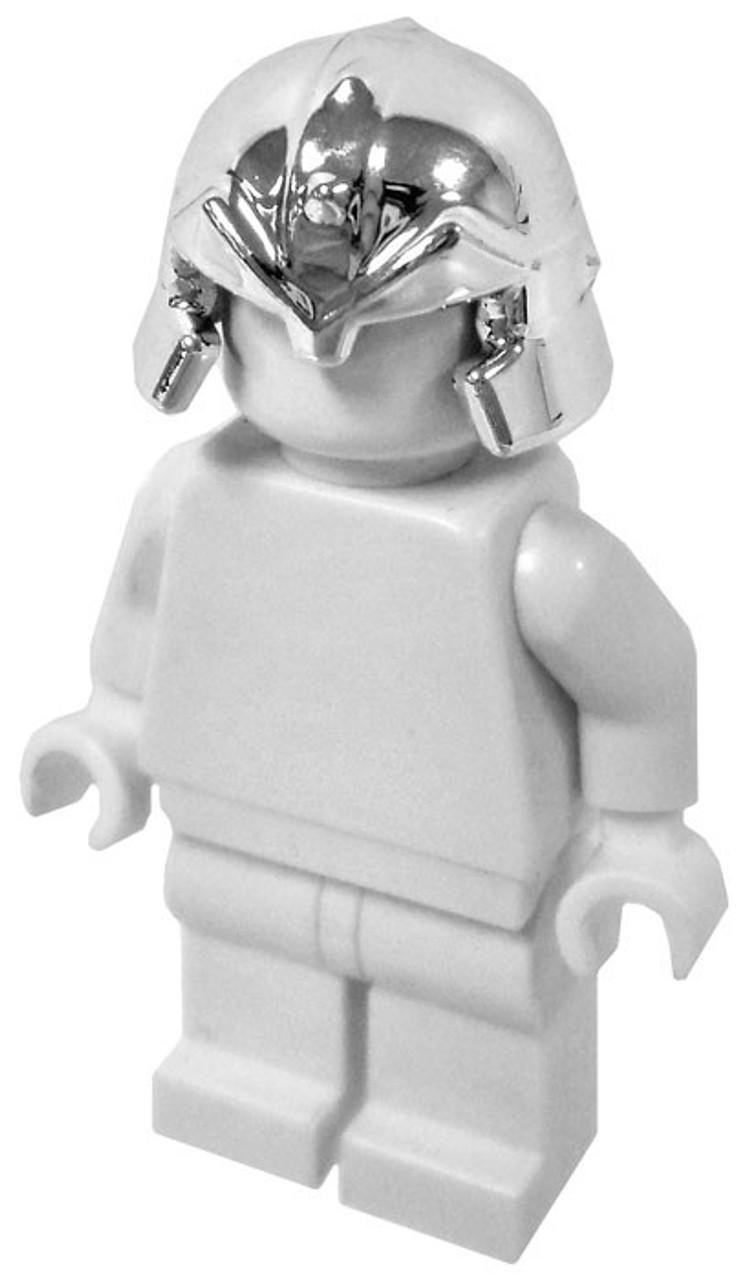 LEGO Castle Headgear Silver Chrome Dwarf Helmet Loose - ToyWiz