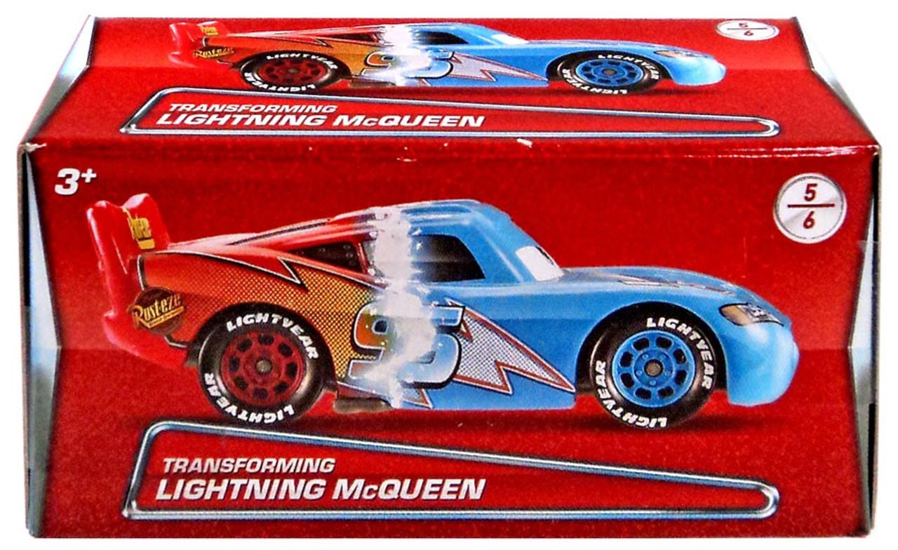 disney pixar cars puzzle box series 2 transforming lightning mcqueen