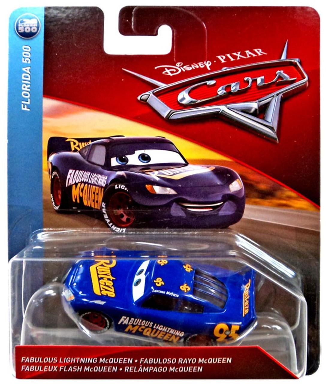 disney pixar cars cars 3 florida 500 fabulous lightning mcqueen 155