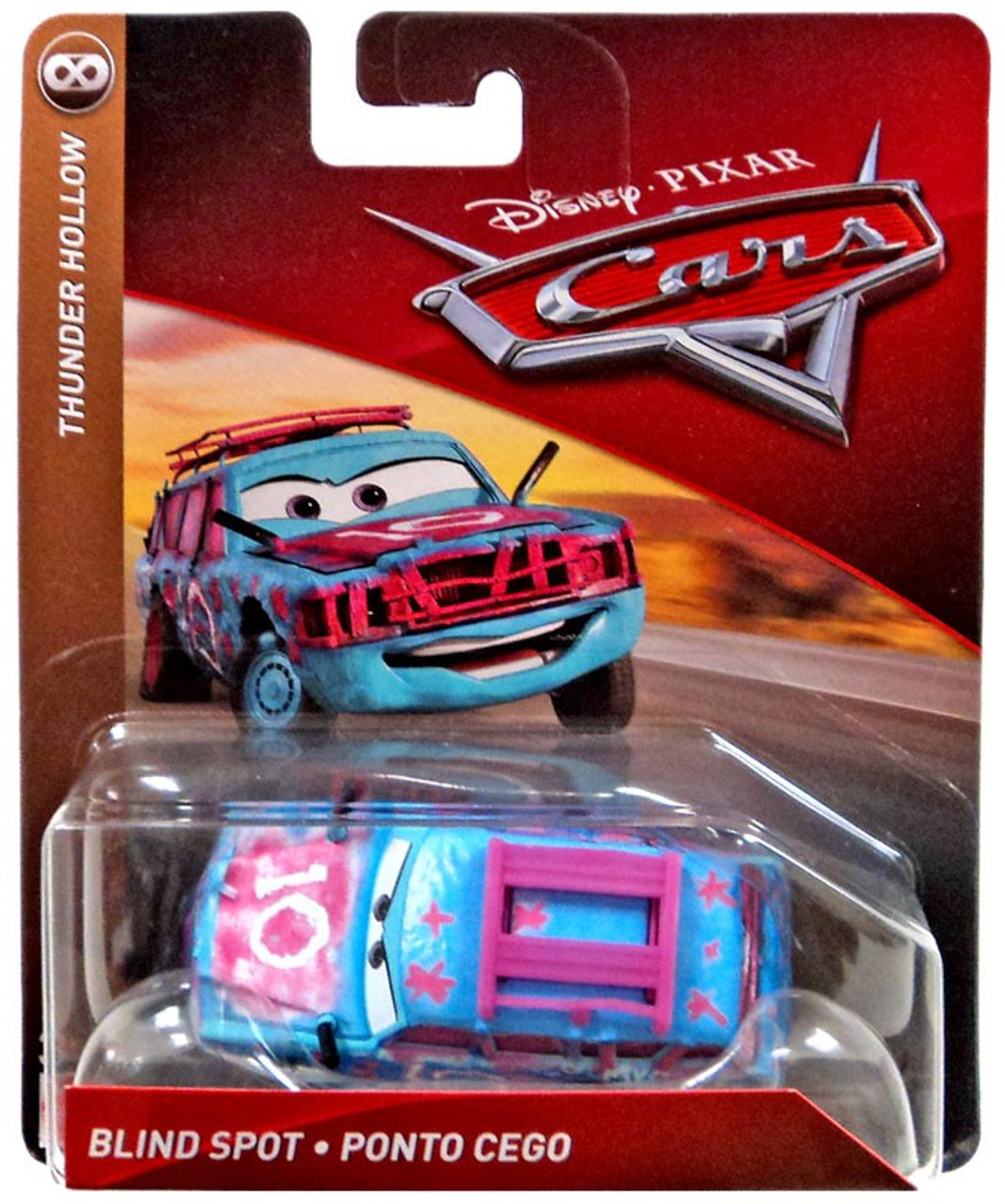 Disney cars cars 3 thunder hollow blind spot 155 diecast car mattel toys toywiz - Coloriage cars 3 thunder hollow ...