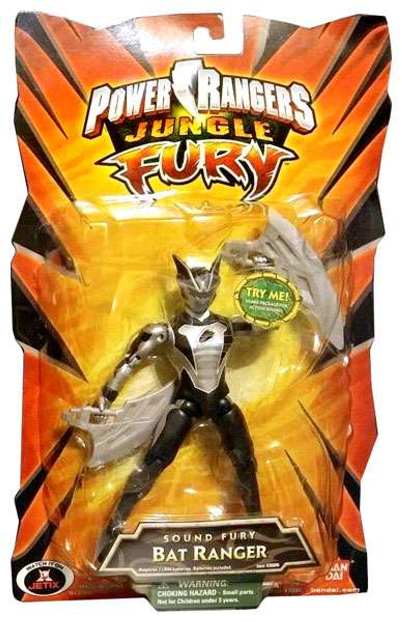 Power rangers jungle fury sound fury bat ranger action figure power rangers jungle fury sound fury bat ranger action figure voltagebd Image collections