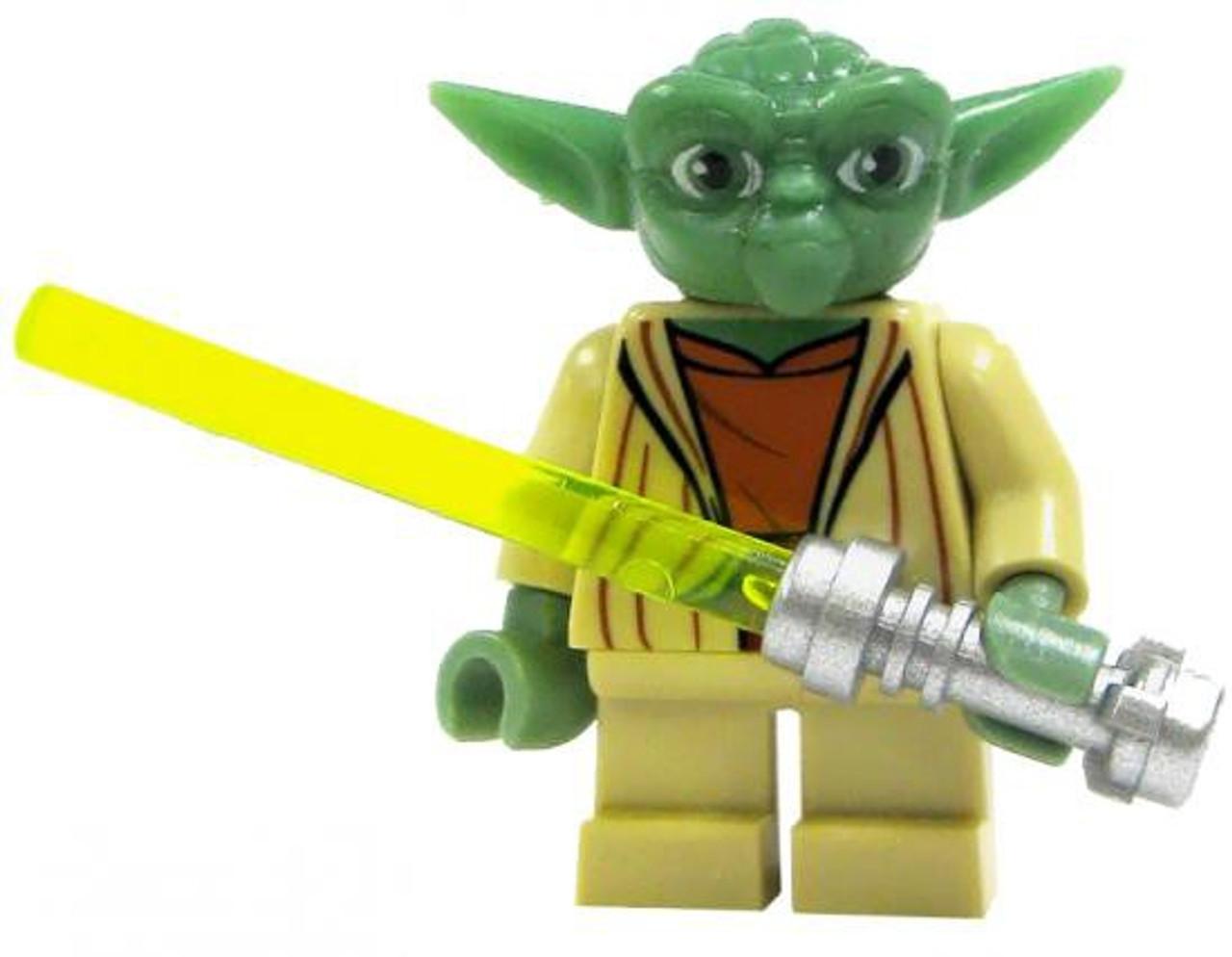 lego star wars yoda minifigure loose - Lego Yoda