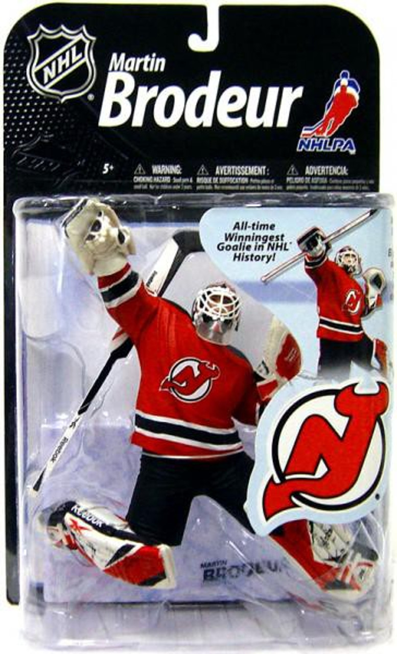 McFarlane Toys NHL New Jersey Devils Sports Picks Series 22 Martin Brodeur  Action Figure Red Jersey - ToyWiz 23148d92c