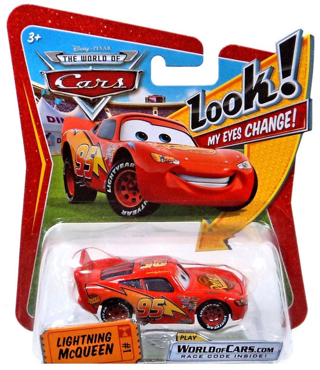 disney pixar cars the world of cars lenticular eyes series 1