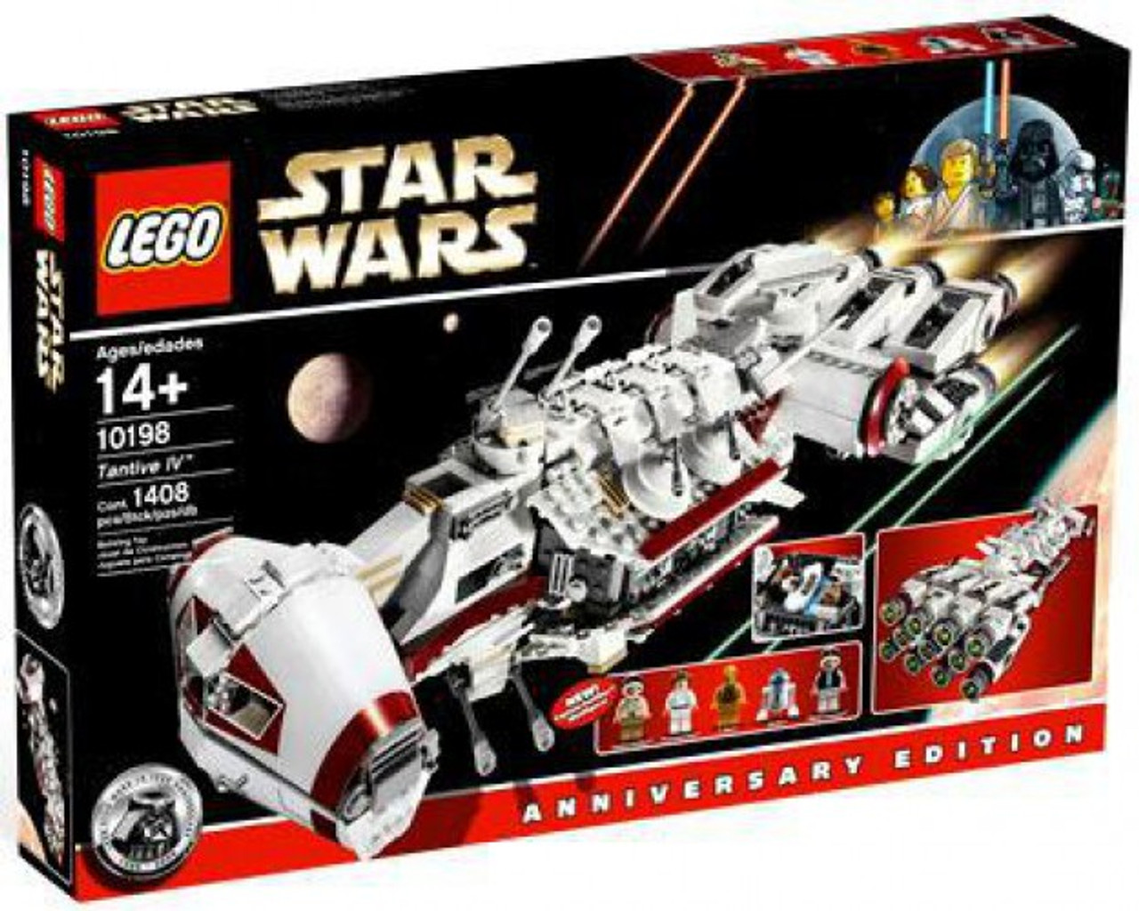 LEGO Star Wars A New Hope Tantive IV Exclusive Set 10198 - ToyWiz