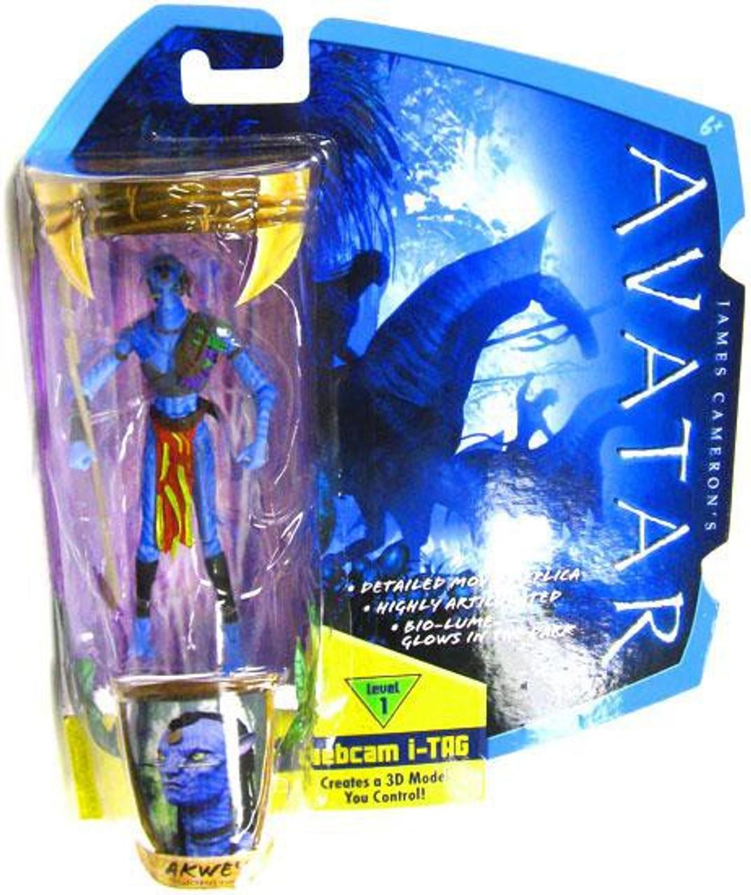 Avatar 2 Toys: James Camerons Avatar Akwey 3.75 Action Figure Mattel Toys