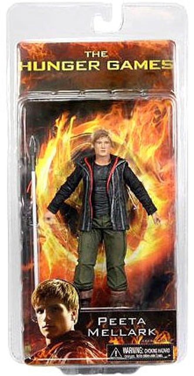 NECA The Hunger Games Series 1 Peeta Mellark Action FIgure