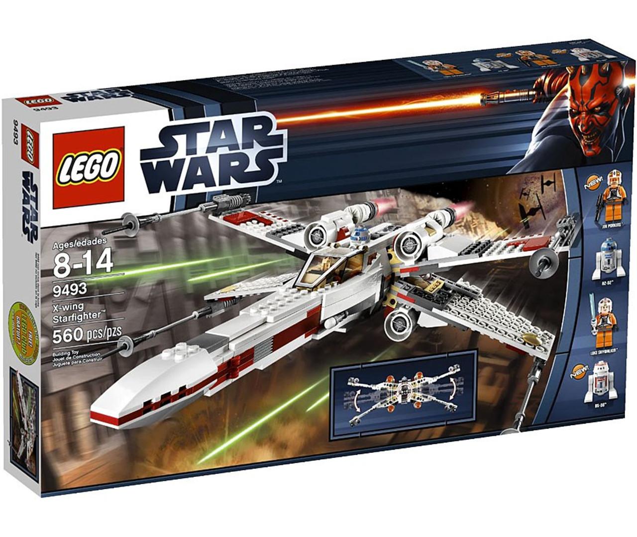 Lego Star Wars X Wing Starfighter 75218 Brand New: LEGO Star Wars A New Hope X-Wing Starfighter Set 9493
