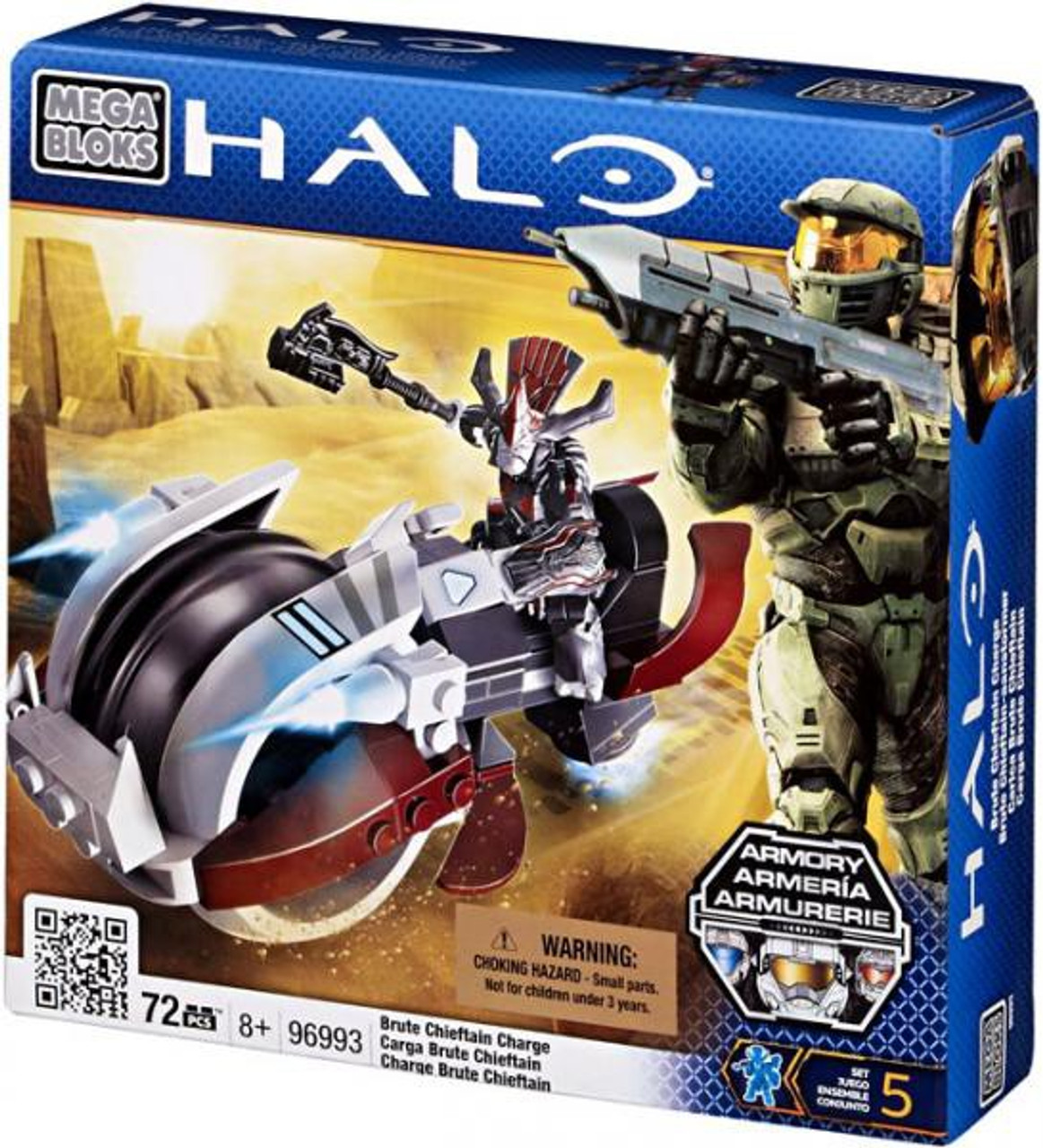 Mega Bloks Halo Brute Chieftain Charge Set #96993