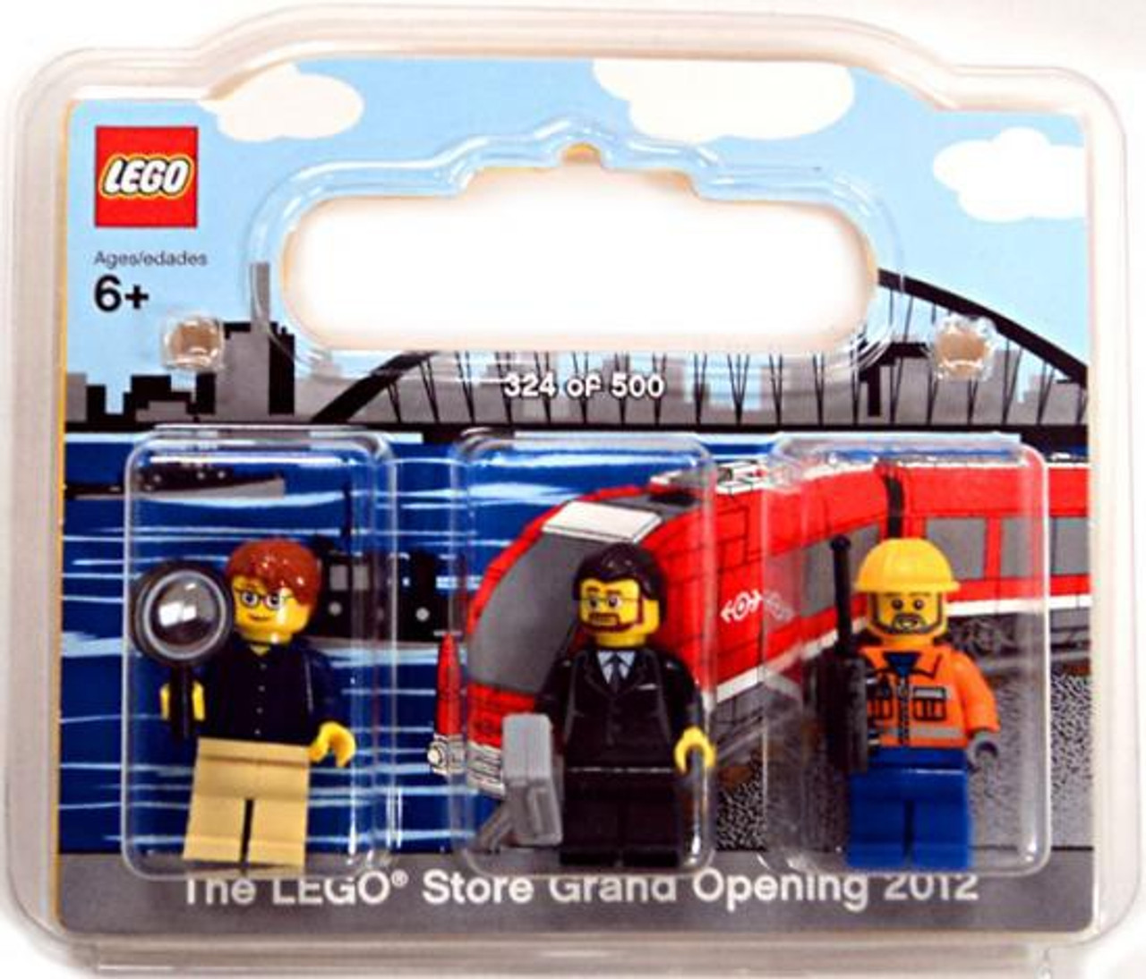 LEGO Exclusives LEGO Store Grand Opening 2012 Mini Figure 3-Pack ...