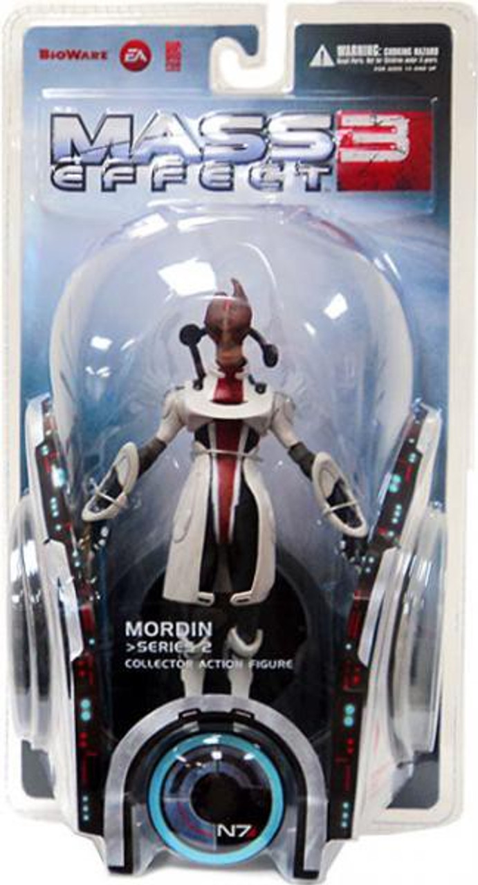 Mass Effect 3 Series 2 Mordin Action Figure