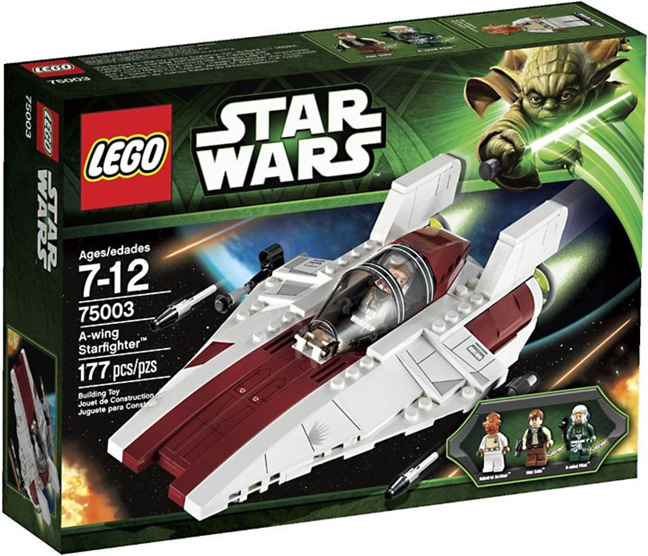 LEGO Star Wars Return of the Jedi A-Wing Starfighter Set 75003 - ToyWiz