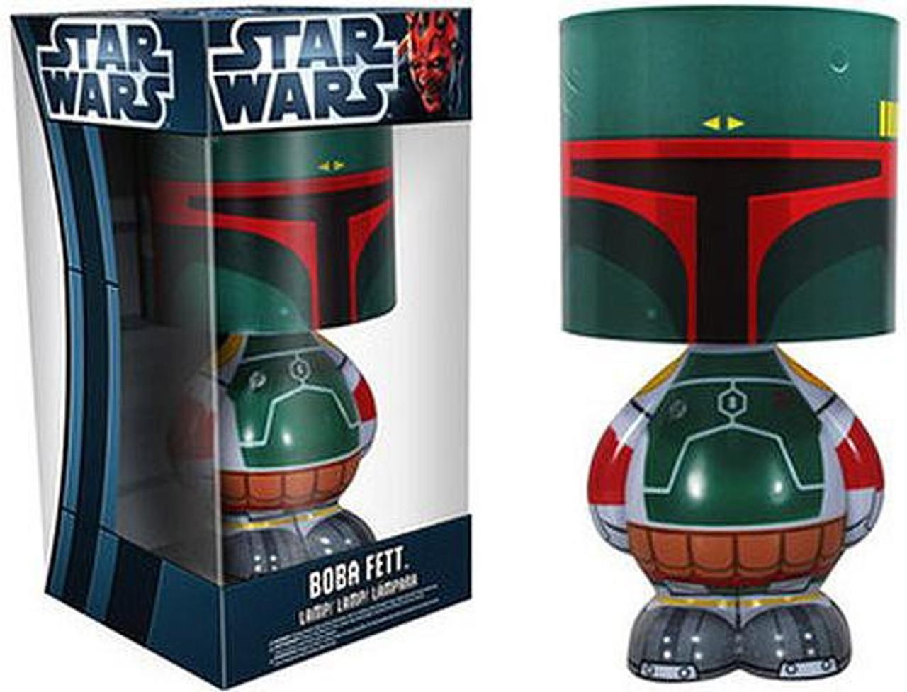 Funko Star Wars Wacky Wobbler Boba Fett Lamp 12 Inch