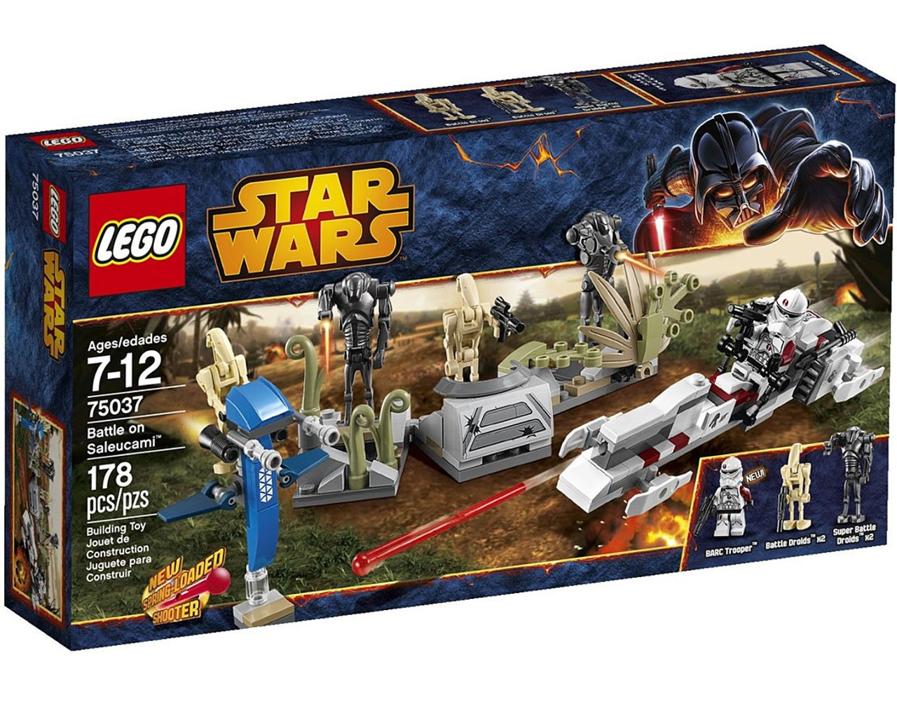 LEGO Star Wars Revenge of the Sith Battle on Saleucami Set #75037
