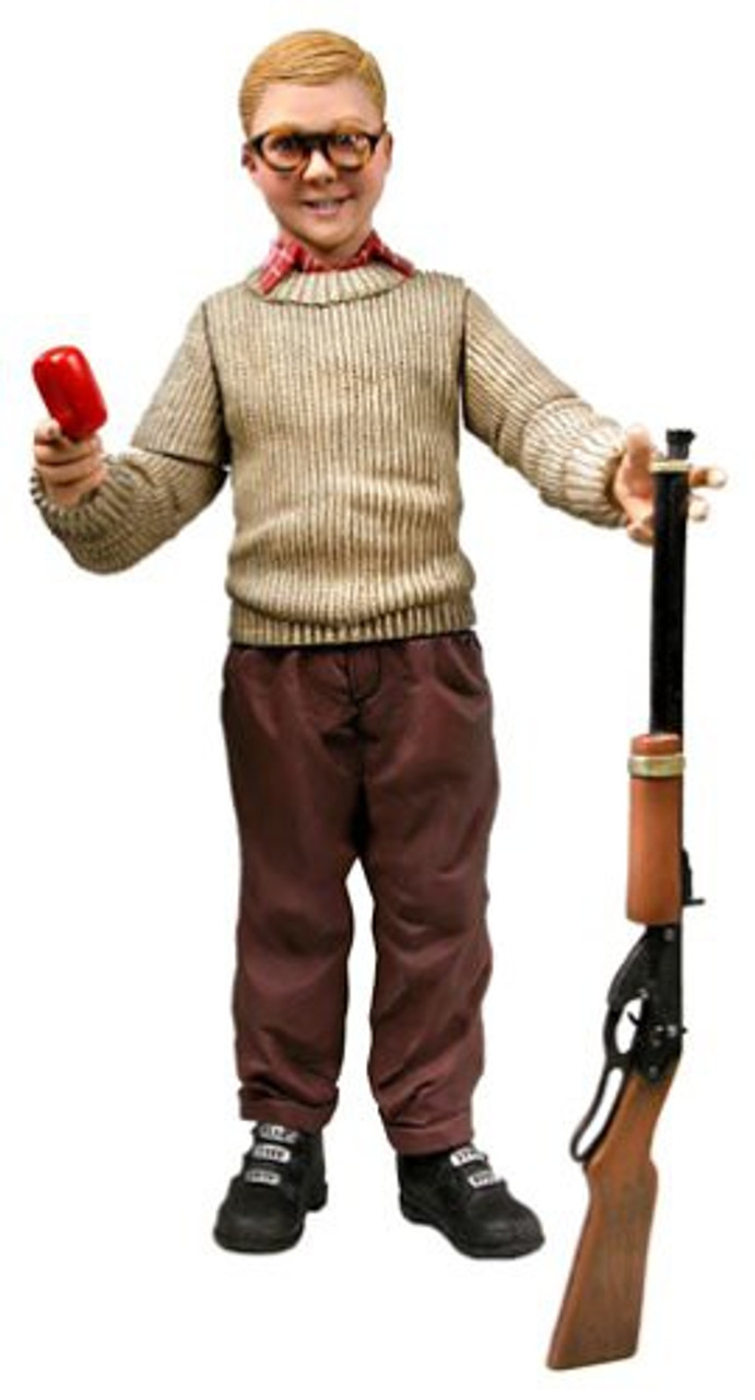 neca a christmas story ralphie action figure with sound