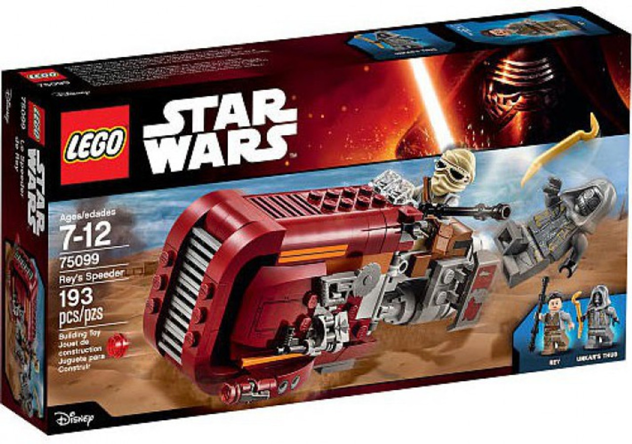 LEGO Star Wars The Force Awakens Rey's Speeder Set #75099