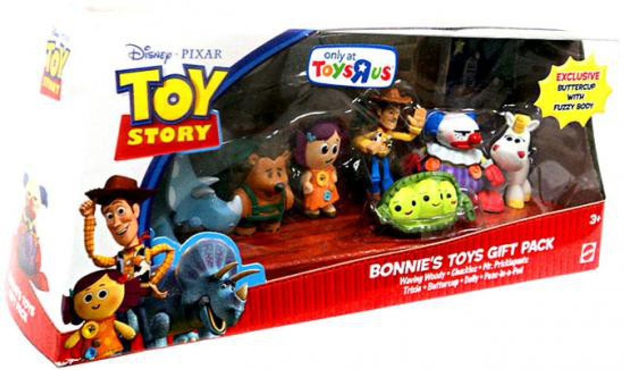 Toy Story Action Figures Set : Toy story bonnies toys gift pack exclusive mini figure set