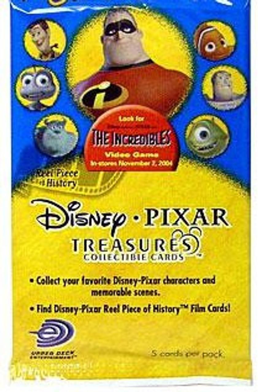 Disney / Pixar The Incredibles Disney Pixar Treasures Trading Card Pack