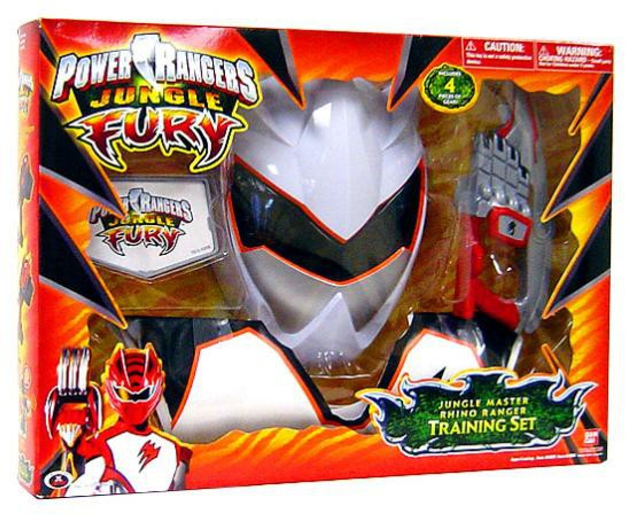 Power rangers jungle fury jungle master rhino ranger training set power rangers jungle fury jungle master rhino ranger training set roleplay toy voltagebd Choice Image