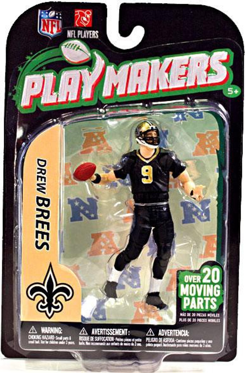 ccb684d7e64 McFarlane Toys NFL New Orleans Saints Playmakers Series 3 Drew Brees Action  Figure
