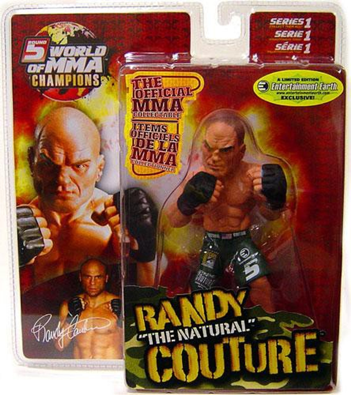 UFC World of MMA Champions Series 1 Randy Couture Exclusive Action Figure [Entertainment Earth]