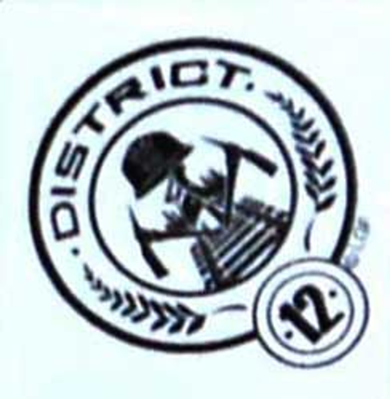 NECA The Hunger Games District 12 Sign Stamp