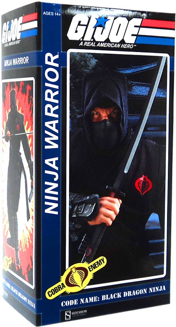 GI Joe Cobra Enemy Ninja Warrior 12-Inch Collectible Figure [Black Dragon Ninja]