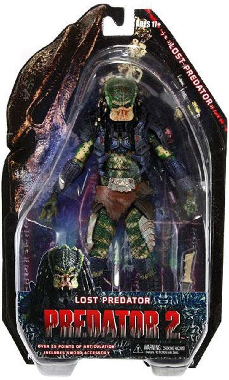 NECA Predator 2 Series 6 Lost Predator Action Figure