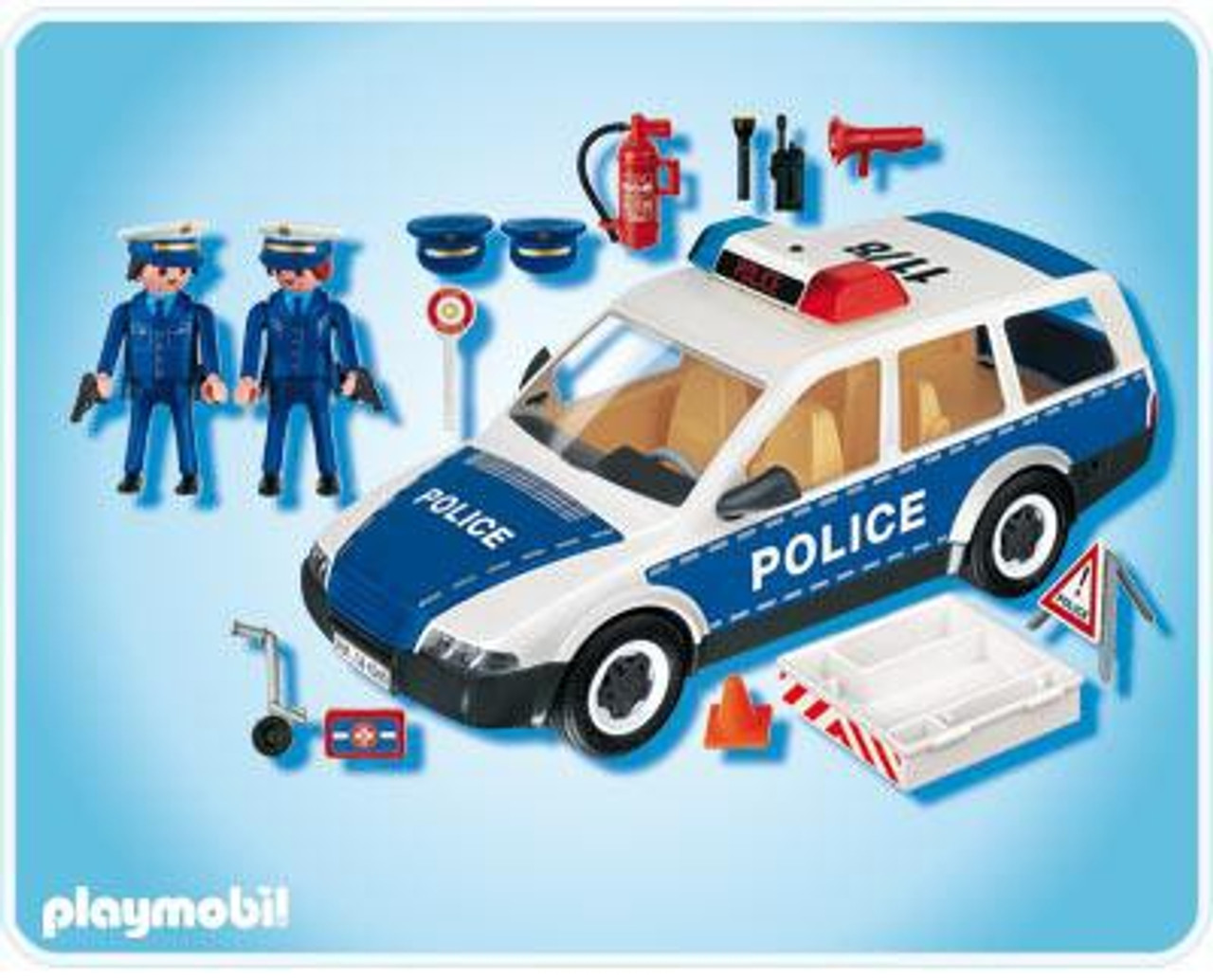 playmobil police patrol car set 4260 - Playmobile Police