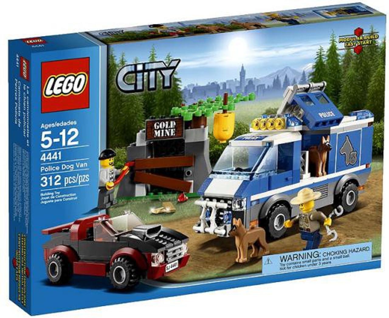 lego city police dog van set 4441 - Lgo City Police