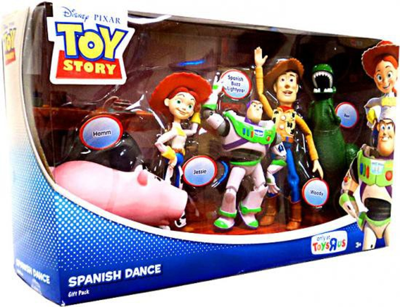 Toy Story Action Figures Set : Toy story spanish dance exclusive action figure set mattel toys