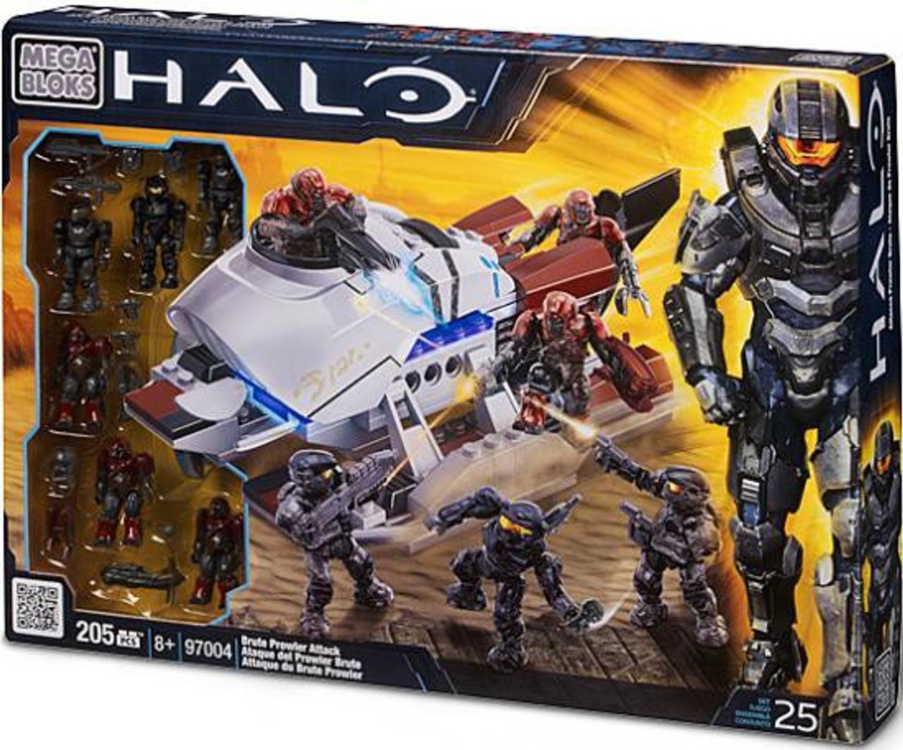 Mega Bloks Halo Brute Prowler Attack Exclusive Set #97004
