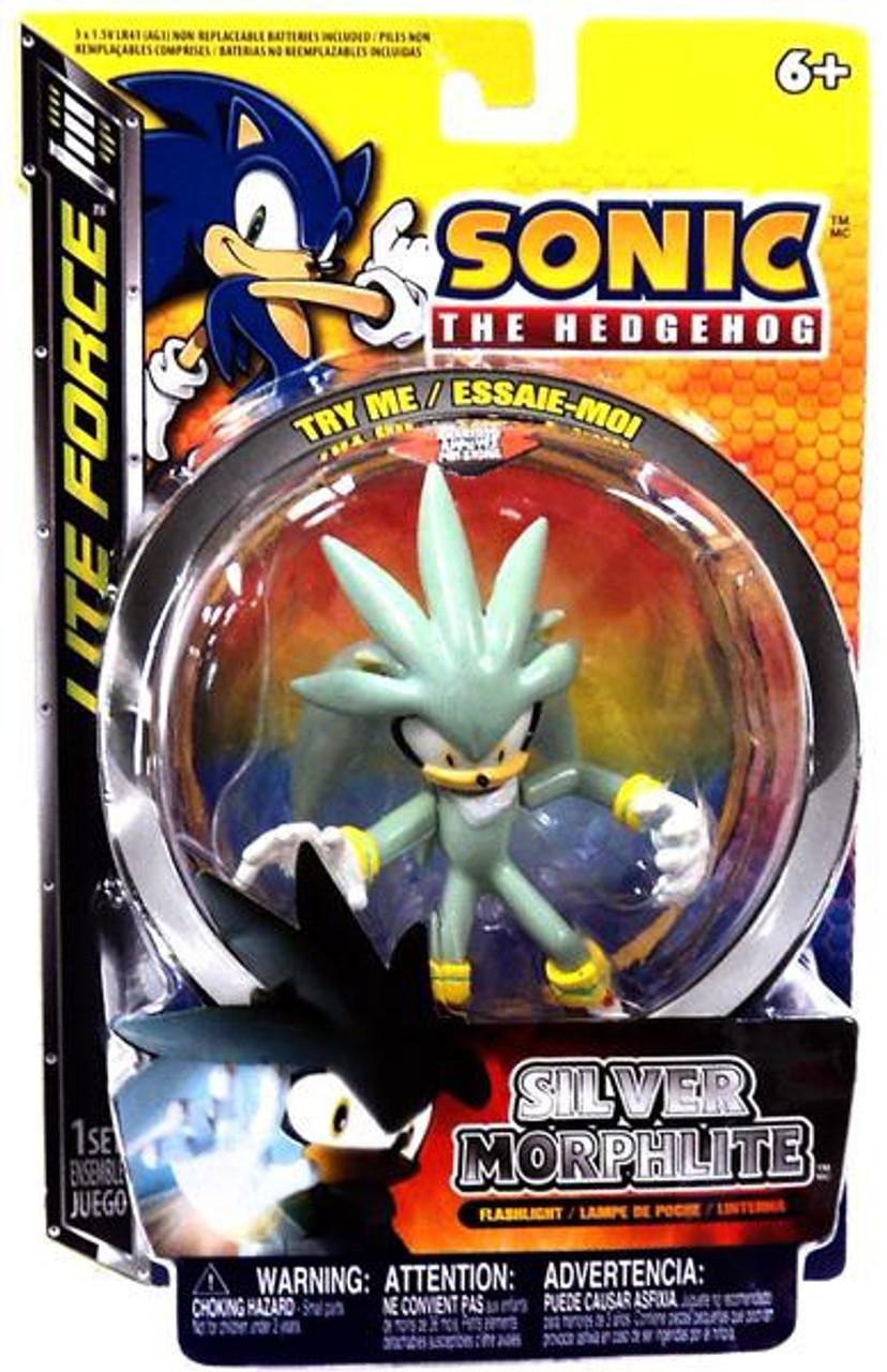 sonic the hedgehog lite force silver morphlite flashlight tech4kids