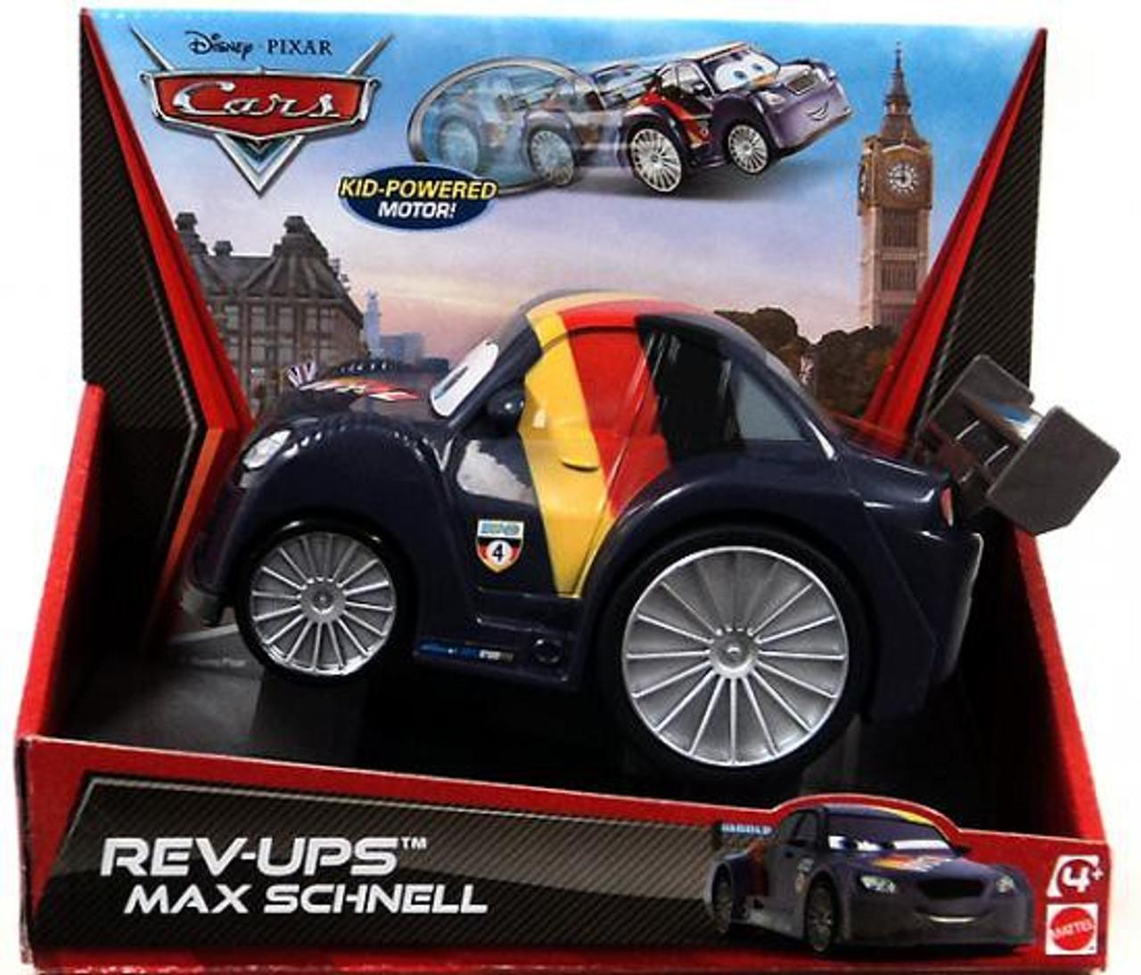disney cars rev ups max schnell plastic car mattel toys