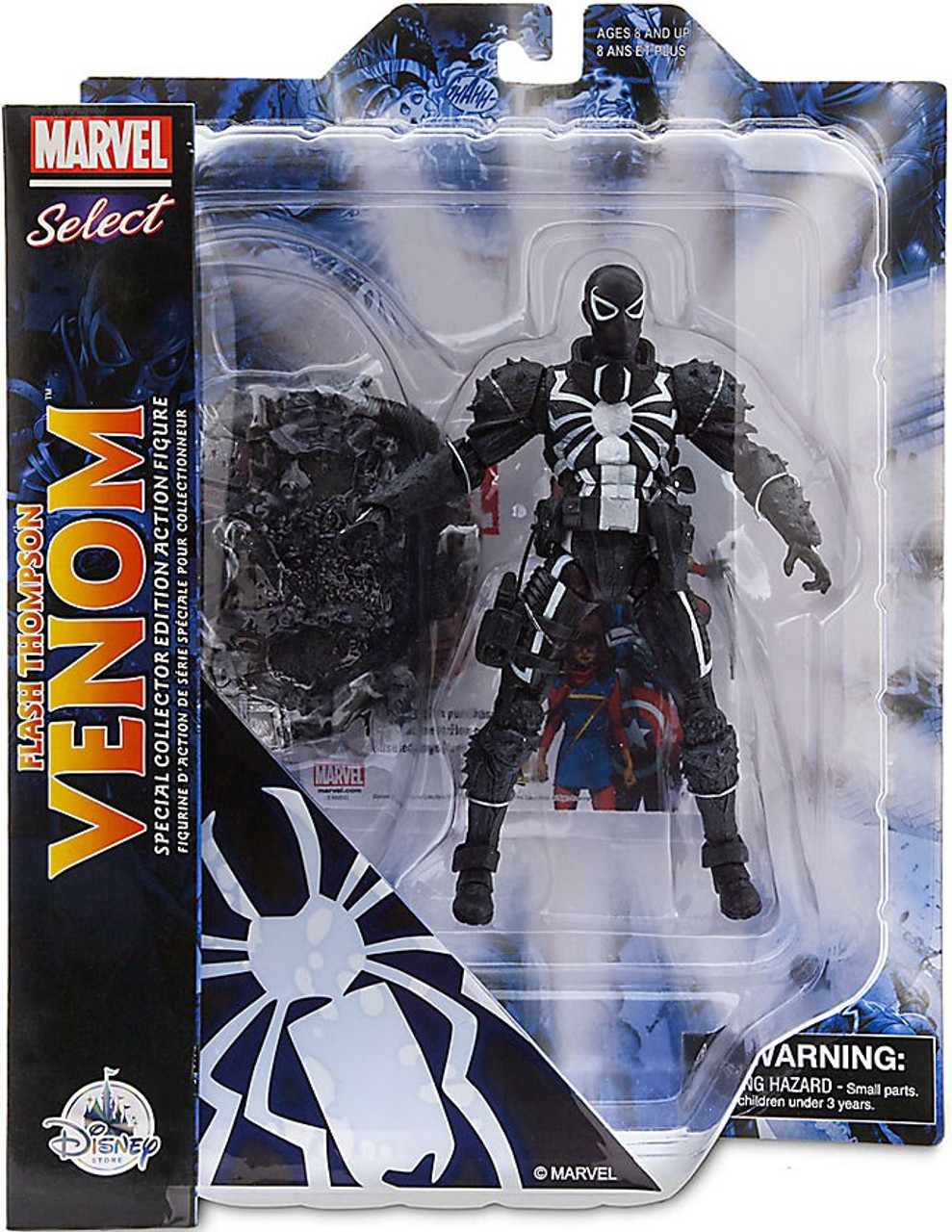 Marvel Marvel Select Flash Thompson Venom Exclusive 7 Action Figure