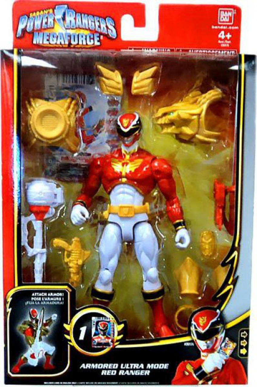 power rangers megaforce deluxe armored ultra mode red