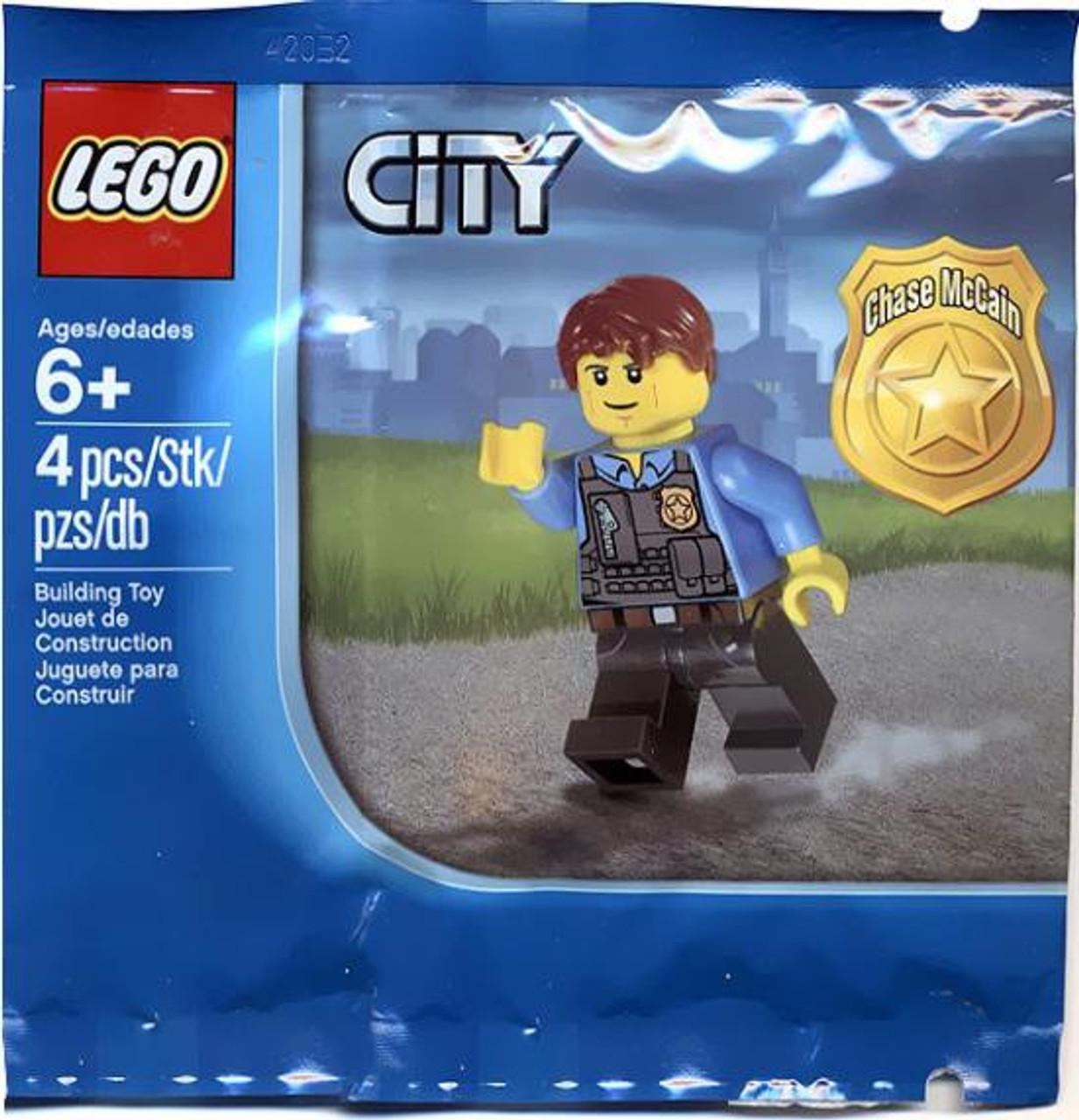 LEGO City Chase McCain Exclusive Mini Set 5000281 Bagged - ToyWiz