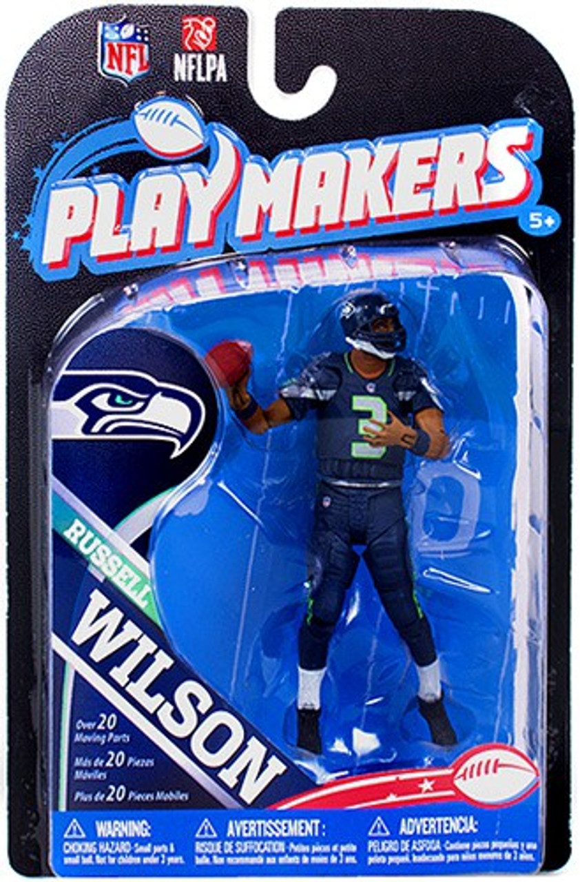 Mcfarlane Toys Nfl Seattle Seahawks Playmakers Series 4 Russell