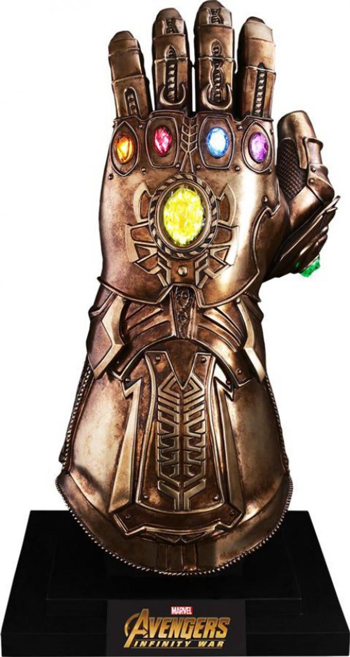 marvel avengers infinity war infinity gauntlet 11 light up replica