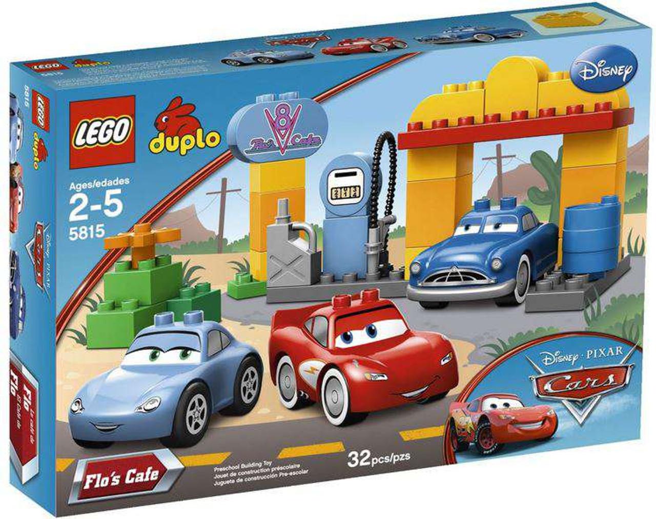 LEGO Disney Cars Duplo Cars Flos Cafe Set 5815 - ToyWiz