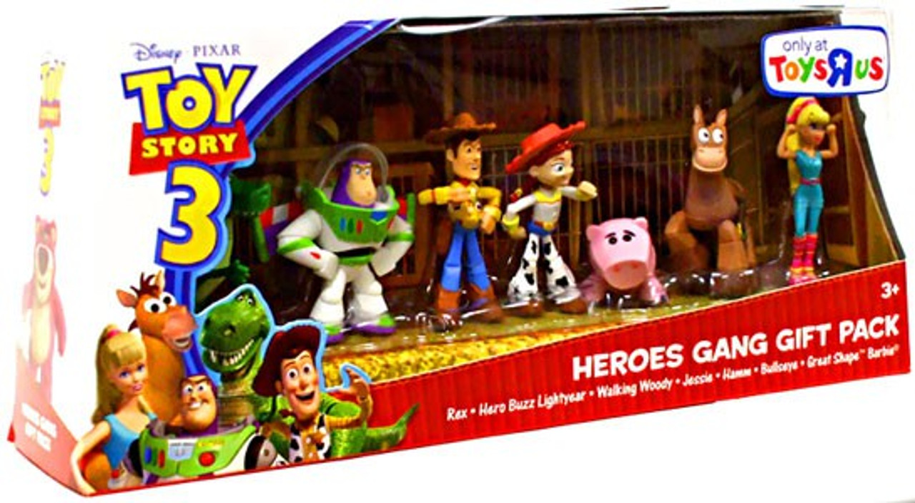Toy Story Action Figures Set : Toy story heroes gang gift pack exclusive mini figure set mattel