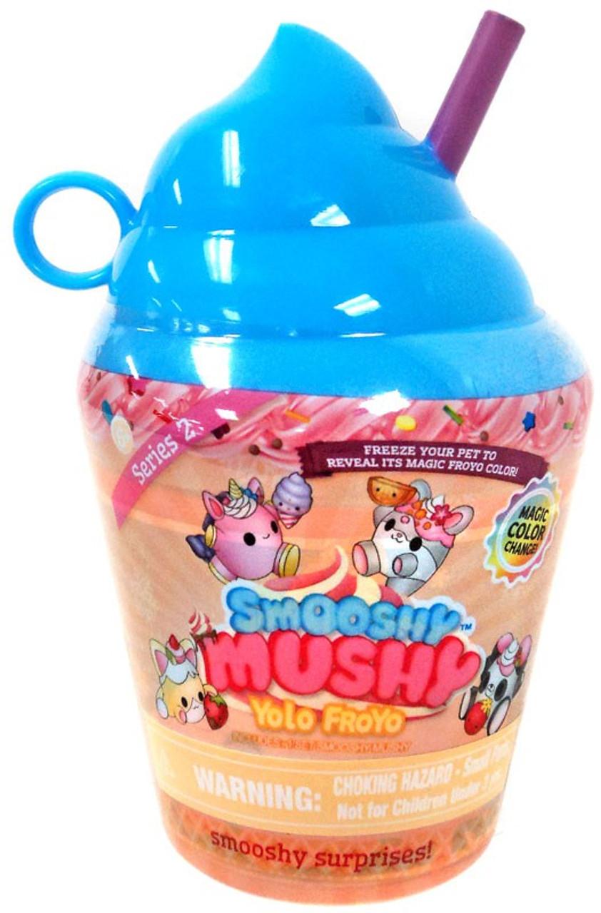 Squishy Mushy Yolo Froyo : Smooshy Mushy Yolo Froyo Smooshy Surprises Series 2 Yolo Froyo Mystery Pack Blue Redwood - ToyWiz