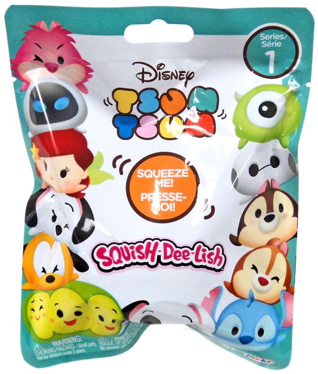Disney Squish-Dee-Lish Tsum Tsum Series 1 Tsum Tsum Mystery Pack Jakks Pacific - ToyWiz