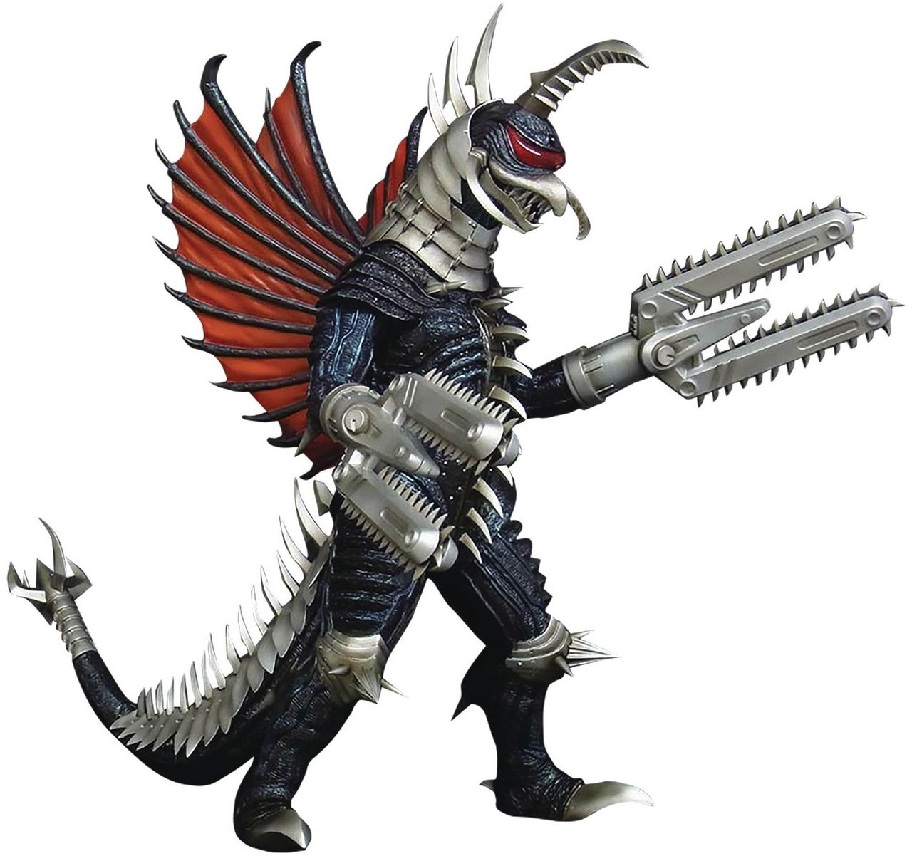 Godzilla 2004 Final Wars Gigan 12 Statue Chainsaw Arms X ...